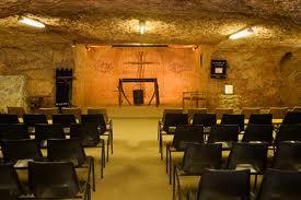 catacomb church in coober pedy